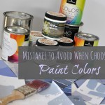 Mistakes to Avoid When Choosing Paint Colors