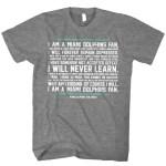 Miami Dolphins Fan Credo Shirt [Giveaway]