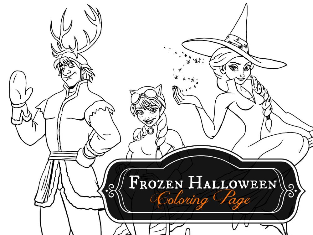 Frozen Halloween GFX