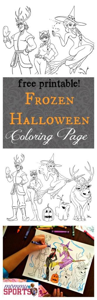 Frozen Halloween Pinterest