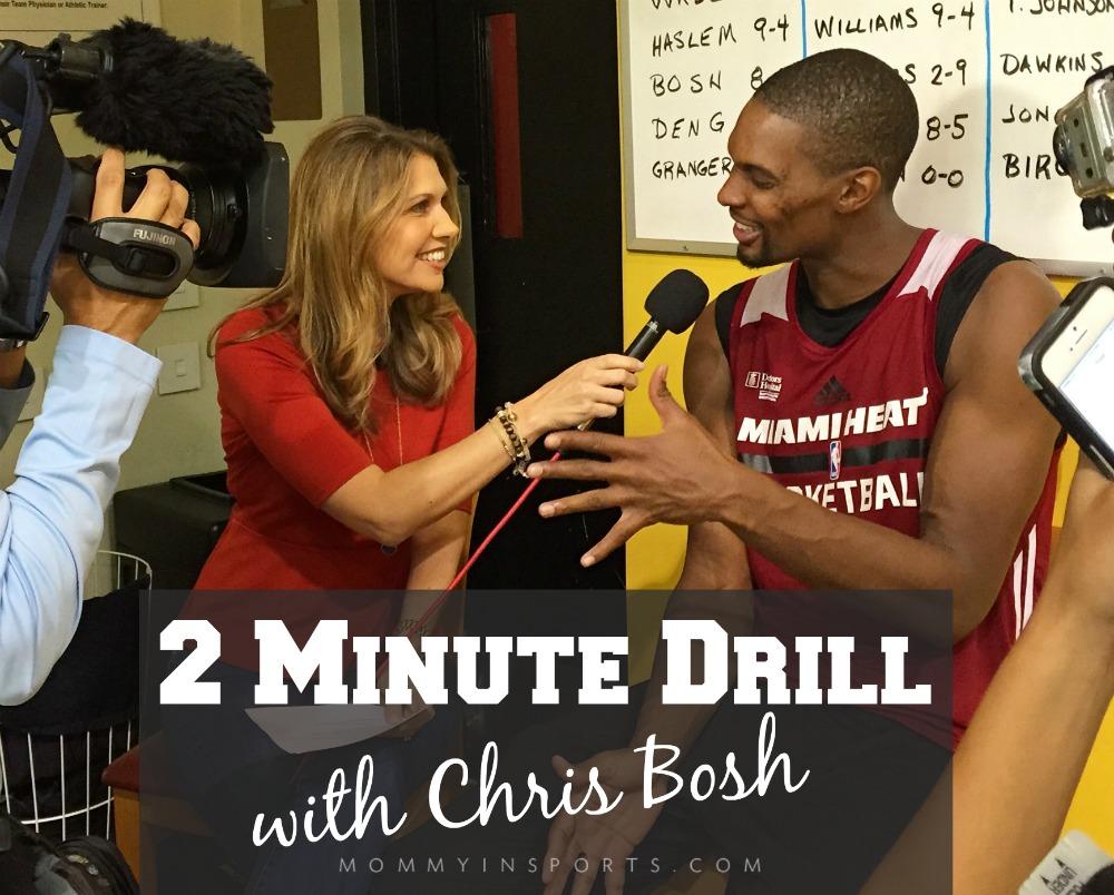 2 Minute Drill Chris Bosh