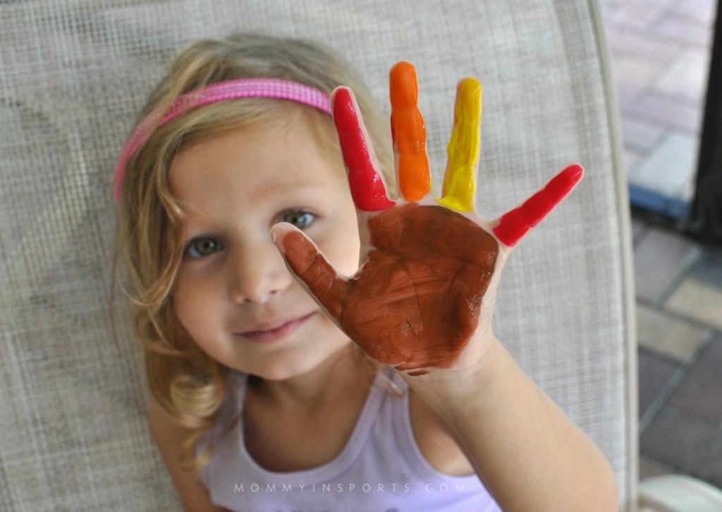 Thanksgiving Hand Turkey Paint