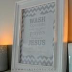 FREE Bathroom Printable