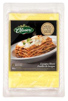 olivieri lasagna sheets