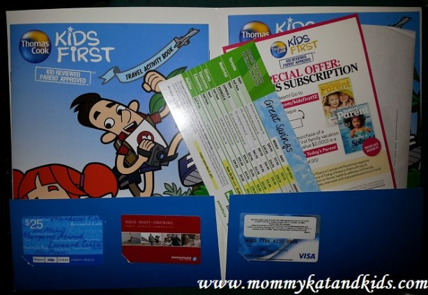 thomas cook kids first prize pack