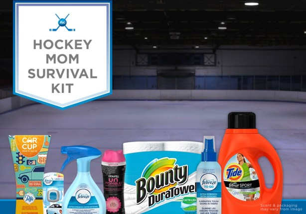 hockey mom survival kit prize pack