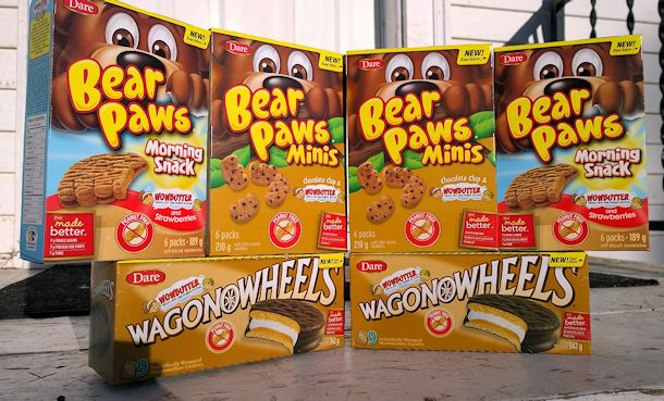 dare bear paws and wagon wheels wowbutter