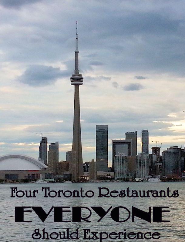 four toronto restaurants to visit