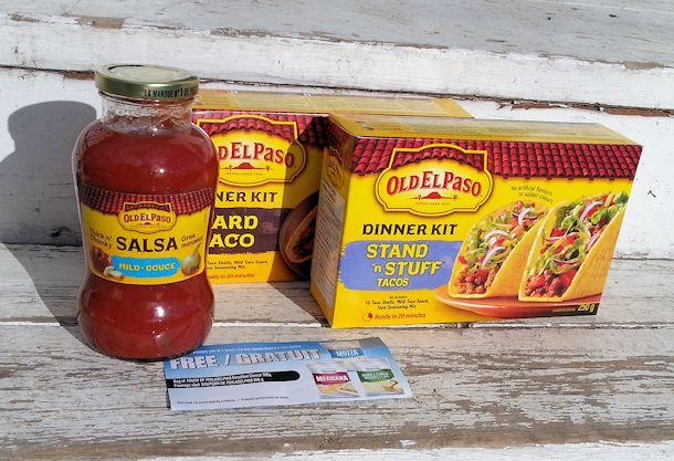 old el paso dinner kit