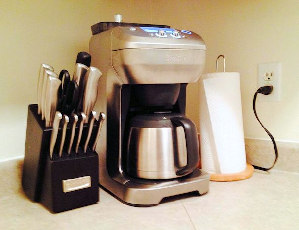 breville grind control coffee machine