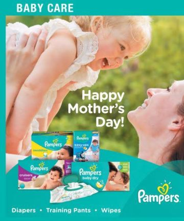 Pampers Mother's Day