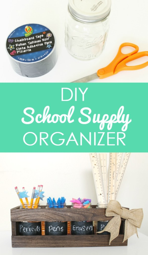 School Supply Organizer