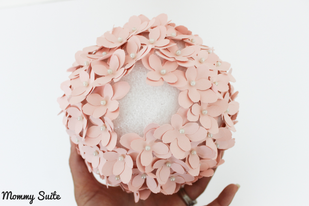 Diy paper flower topiary mommy suite paper flower topiary mightylinksfo