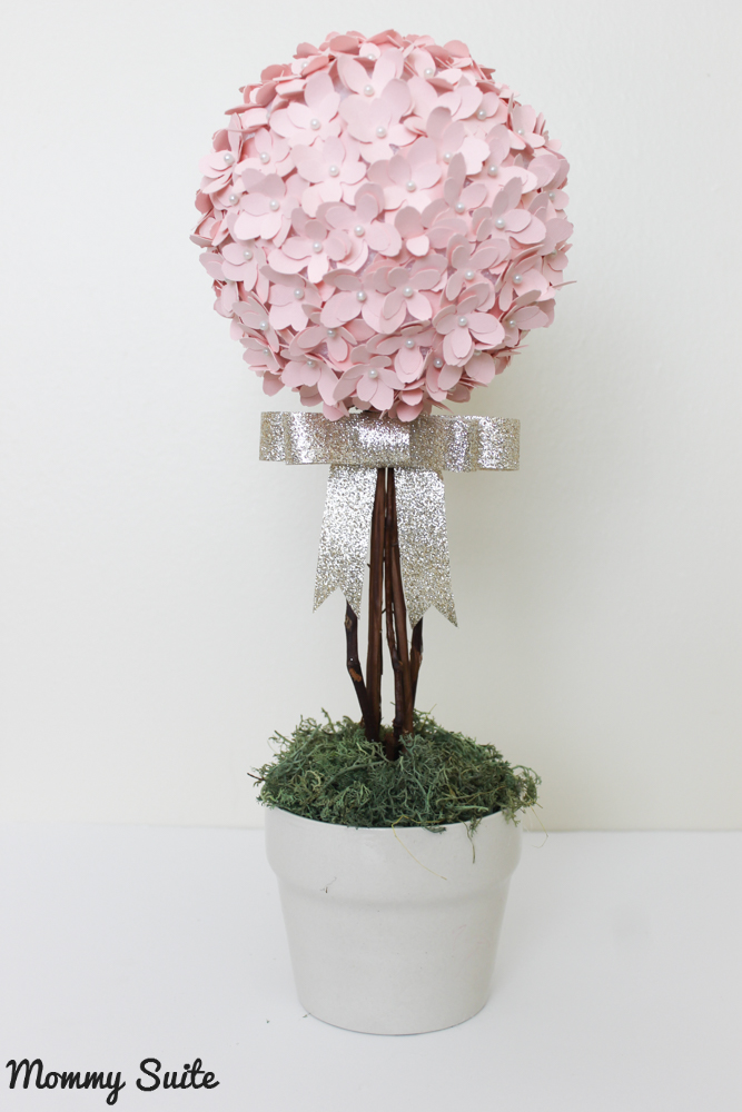 Paper Flower Topiary