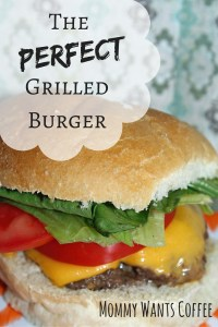 Grilled Burger Pinterest