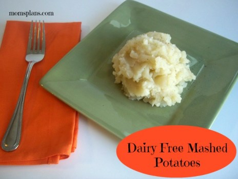 how to make non dairy mashed potatoes