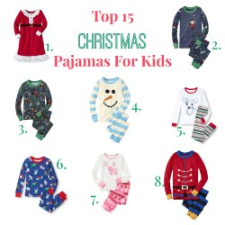 Small Crop Of Kids Christmas Pajamas
