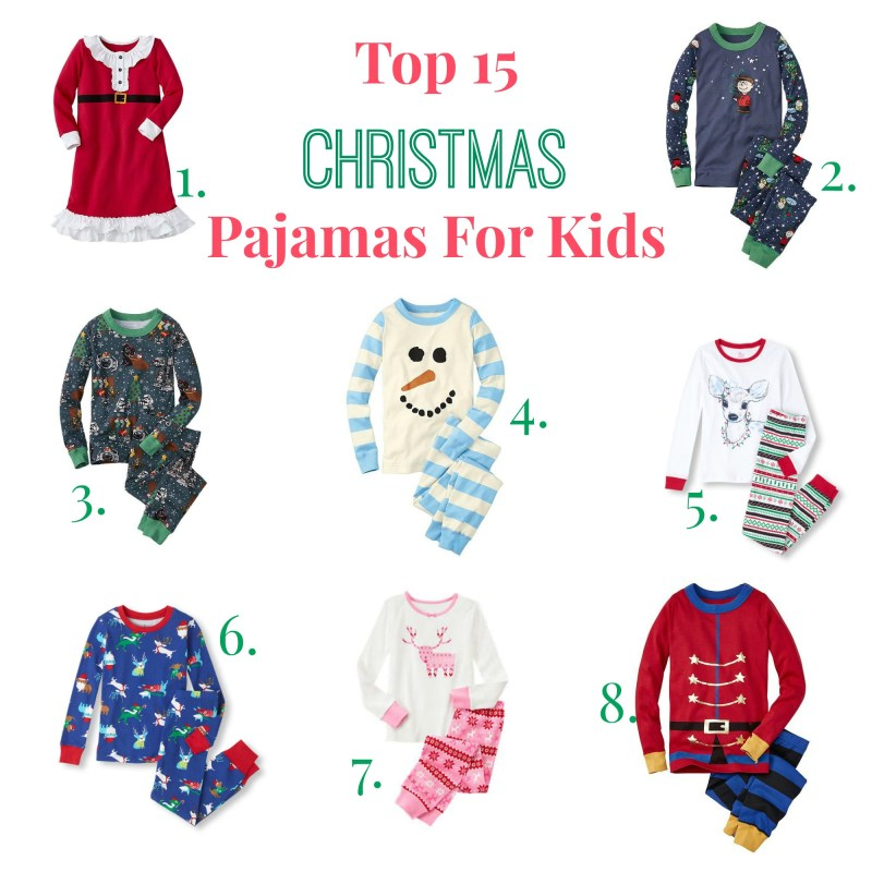 Large Of Kids Christmas Pajamas