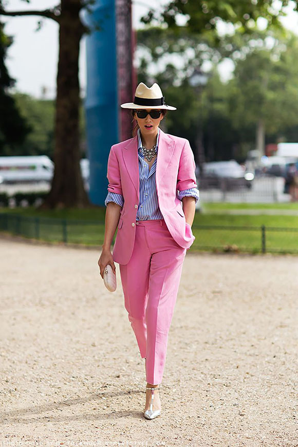 Street-style-2013-tailleur-rosa-fashion-blogger