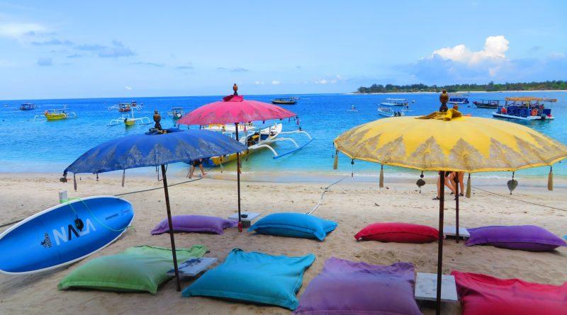 The paradisiacal Gili Islands in Indonesia