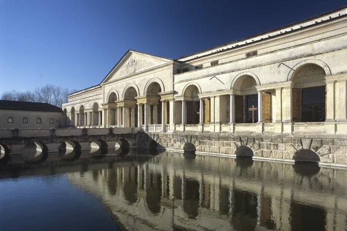 Palazzo Te, Peschiere - Foto Archivio Comune di Mantova