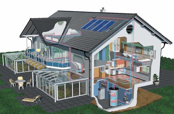Costruire con intelligenza la casa passiva riscaldata dal for Casa tradizionale tedesca