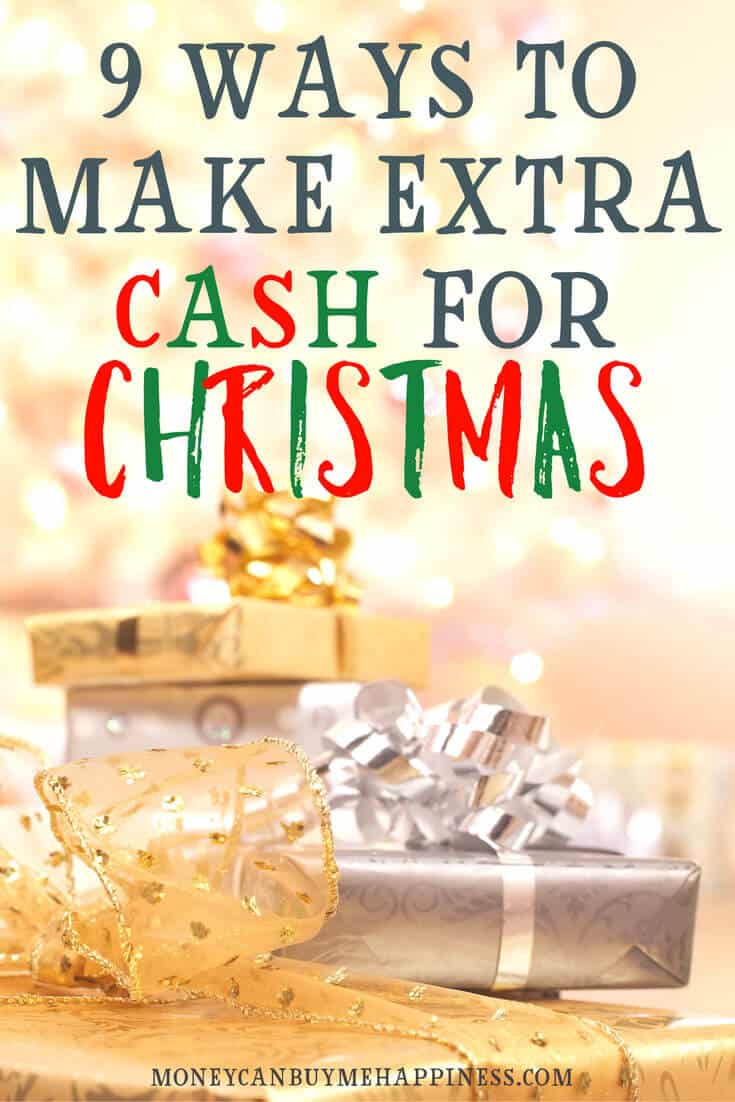 Need to make extra money for Christmas? You need this post.