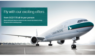 Cathay Pacific Promo Fares 17 May 16