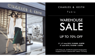 Charles & Keith Warehouse Sale 2016