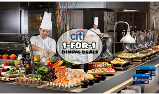 Citibank 1 for 1 Dining Deals