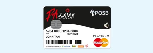Passion POSB Card