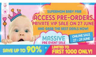 Supermom preorder event