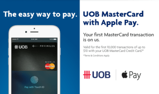 UOB Apple Pay Featured