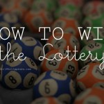 The BEST Strategy to Winning the Lottery