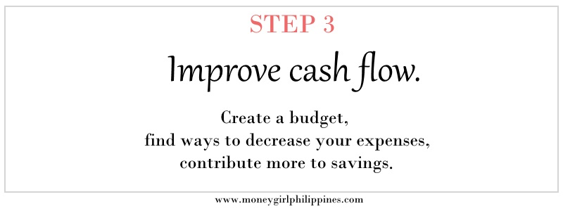 Money Girl Philippines - Step 03 Increase cash flow