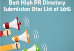 High PR Free Directory Submission Site List 2015