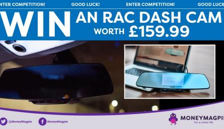 Win an RAC Dashcam worth £159.99