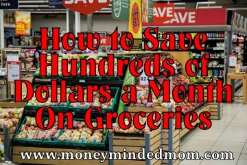 How to Save Hundreds on Groceries