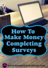 How to Make Money Completing Surveys
