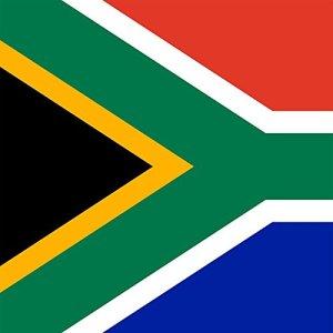 Magnet Frigo avec drapeau national Sud-africain - 5 x 5 cm - Aimant pour les amis d'Afrique du Sud