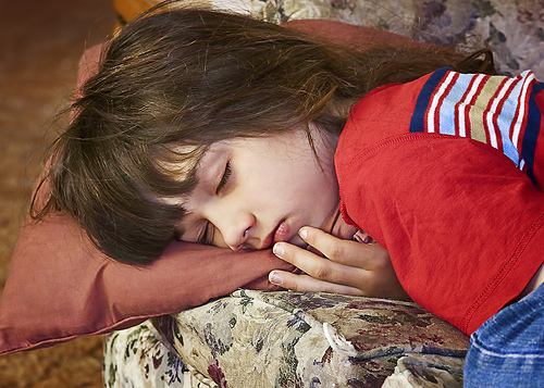 kid sleeping photo