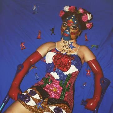 Frida Lucha Mask & Neckbrace - Karina Akopyan