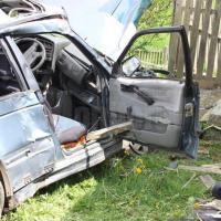 VIDEO/FOTO: Un bărbat și o femeie au murit într-un accident auto, la Neagra Șarului!