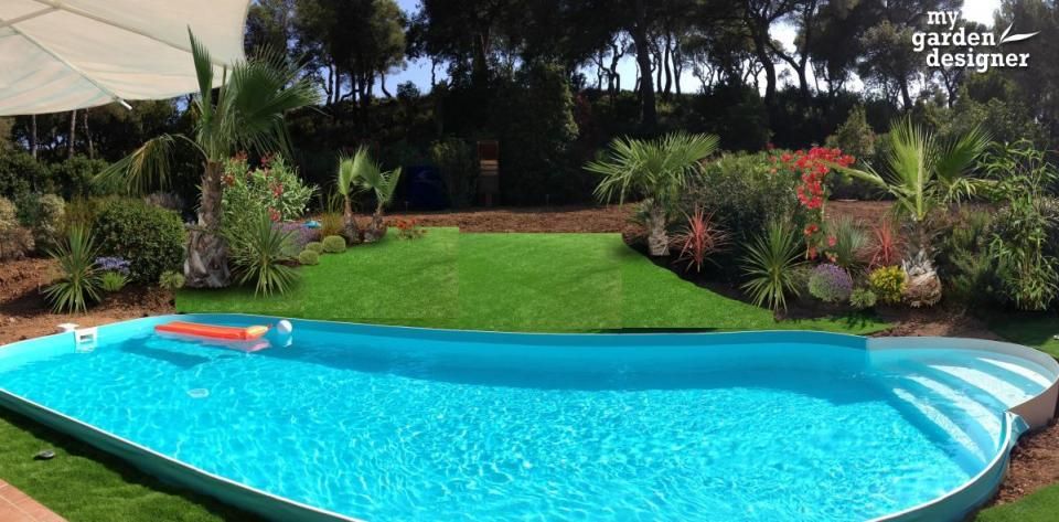 Quelles plantes pour un massif de bord de piscine for Plante exotique exterieur rustique