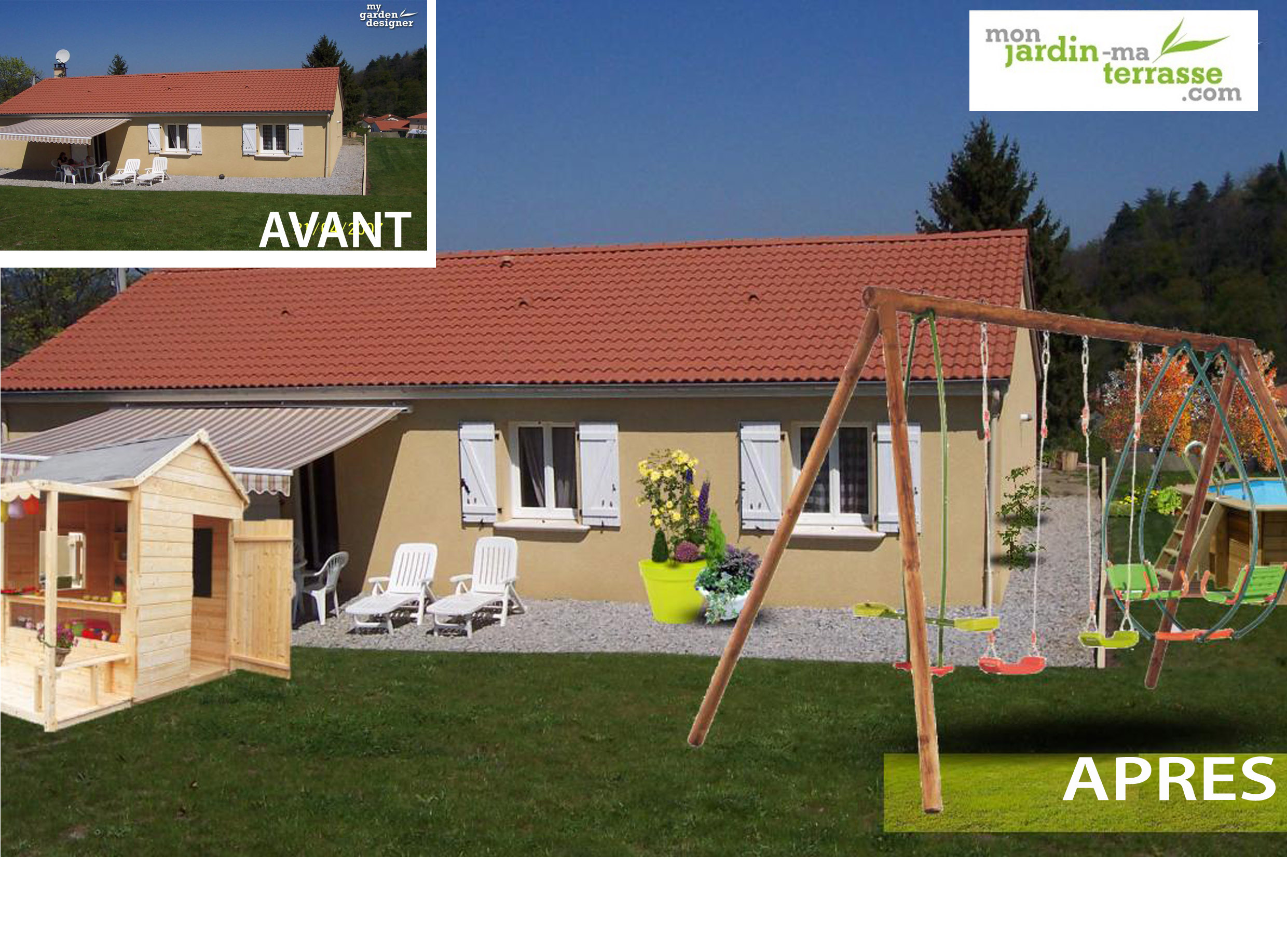 Am nager son jardin pour enfant monjardin for Amenager son jardin en normandie