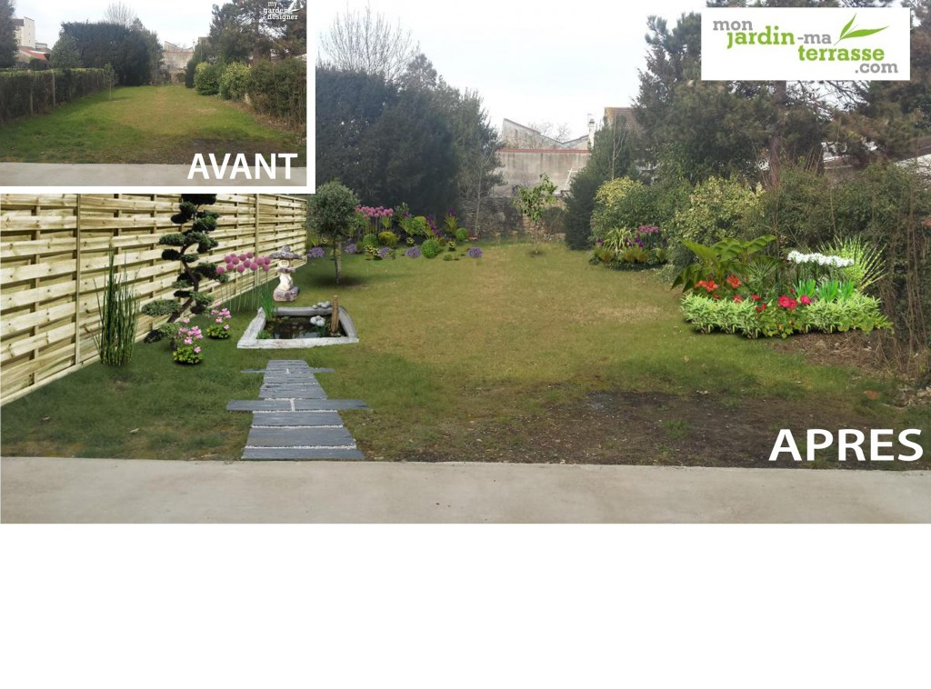 Am nagement jardin monjardin for Amenager un jardin en pente