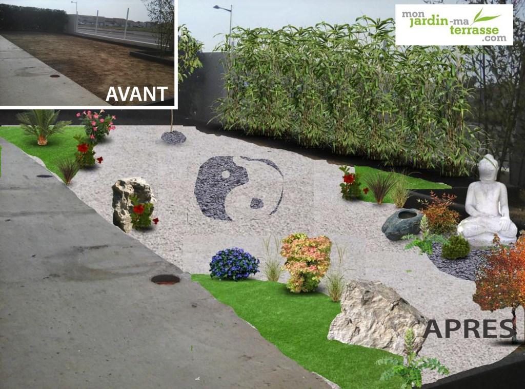 Am nagement paysager monjardin for Amenagement terrasse exterieur jardin
