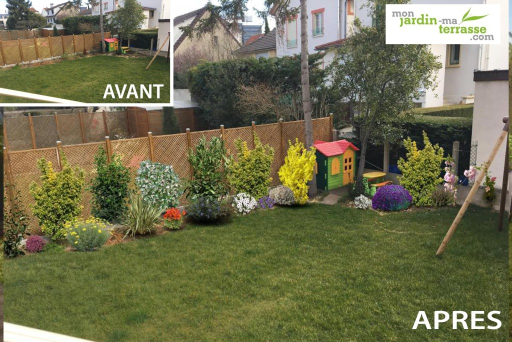 Haie mixte monjardin for Cacher vis a vis jardin