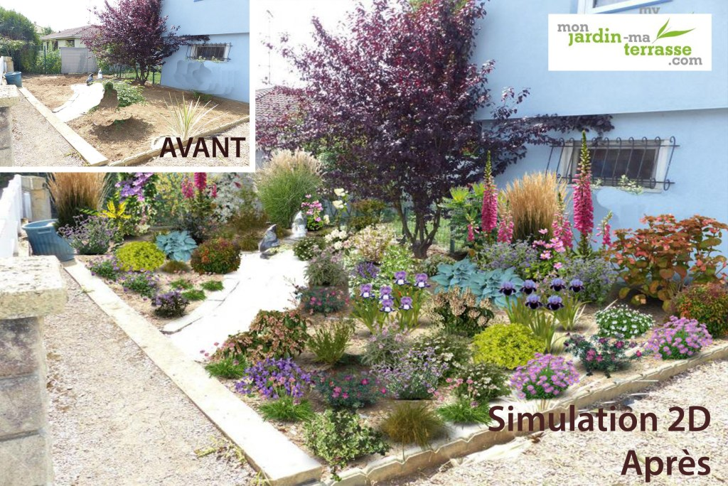 Monjardin mon jardin ma terrasse for Creer un jardin paysager