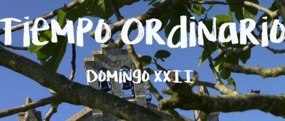 Domingo XXII del Tiempo Ordinario
